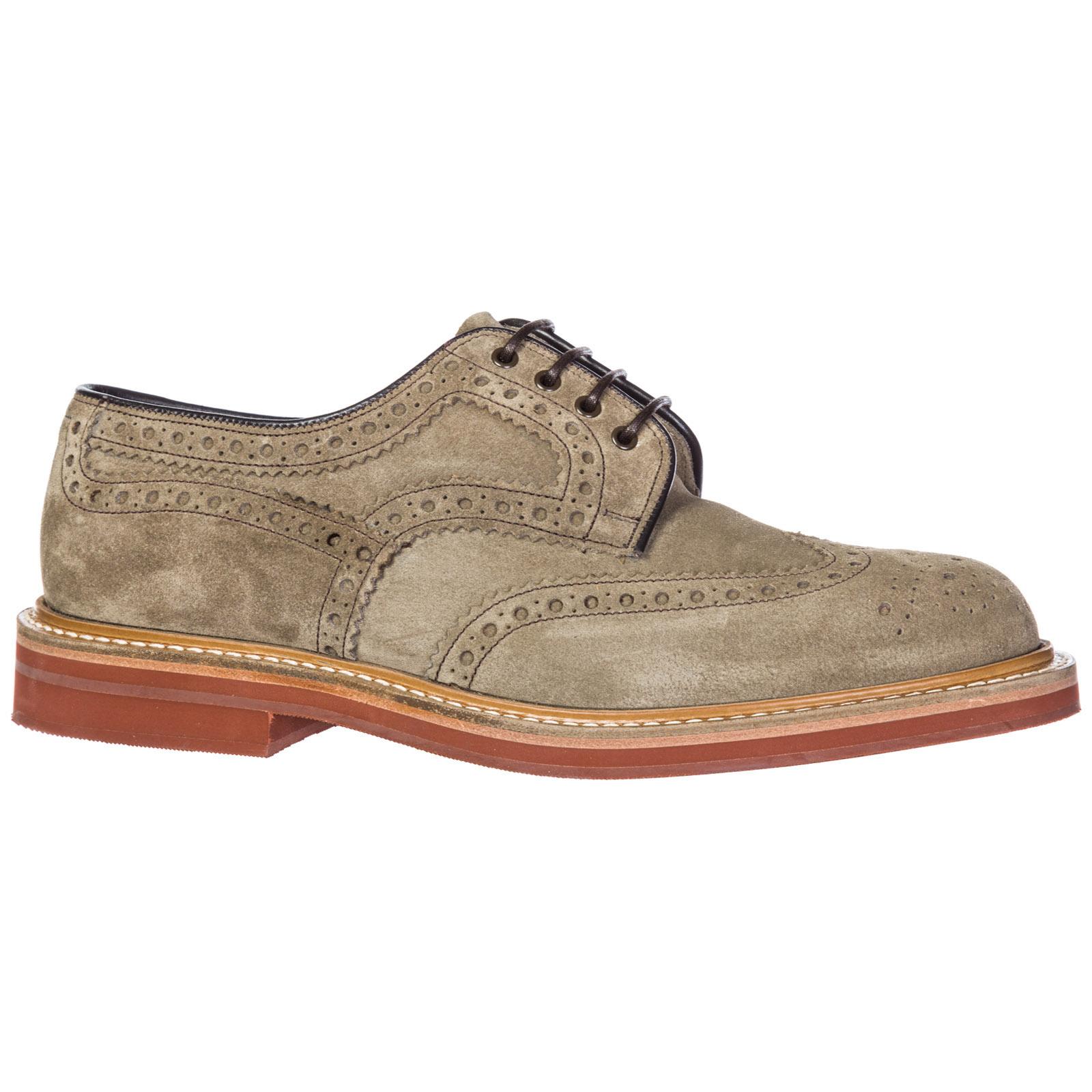 классические туфли на шнурках мужские замшевые orby