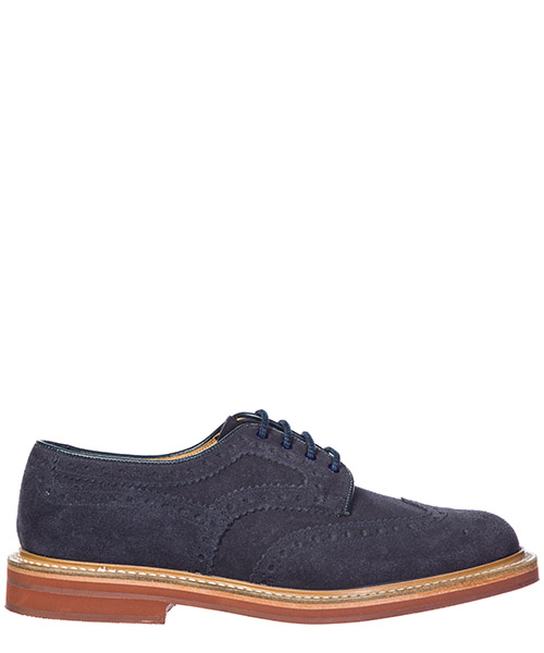 Heeled brogues Church's Orby ORBY 6226 39 navy
