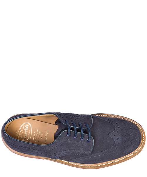 Clásico zapatos de cordones en ante hombres orby secondary image