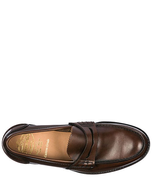 Men's leather loafers moccasins  pembrey secondary image