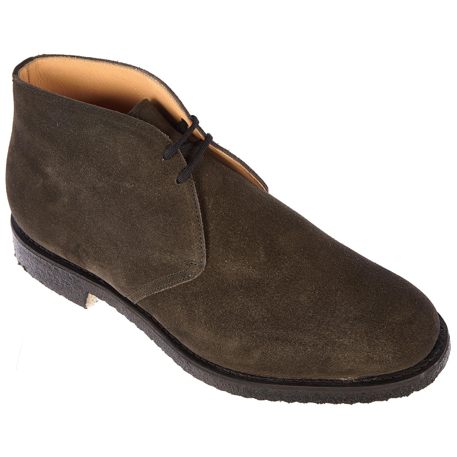 Botines zapatos en ante hombres ryder