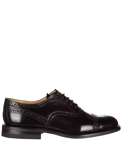 Lace up shoes Church's SCALFORD F0AAB black