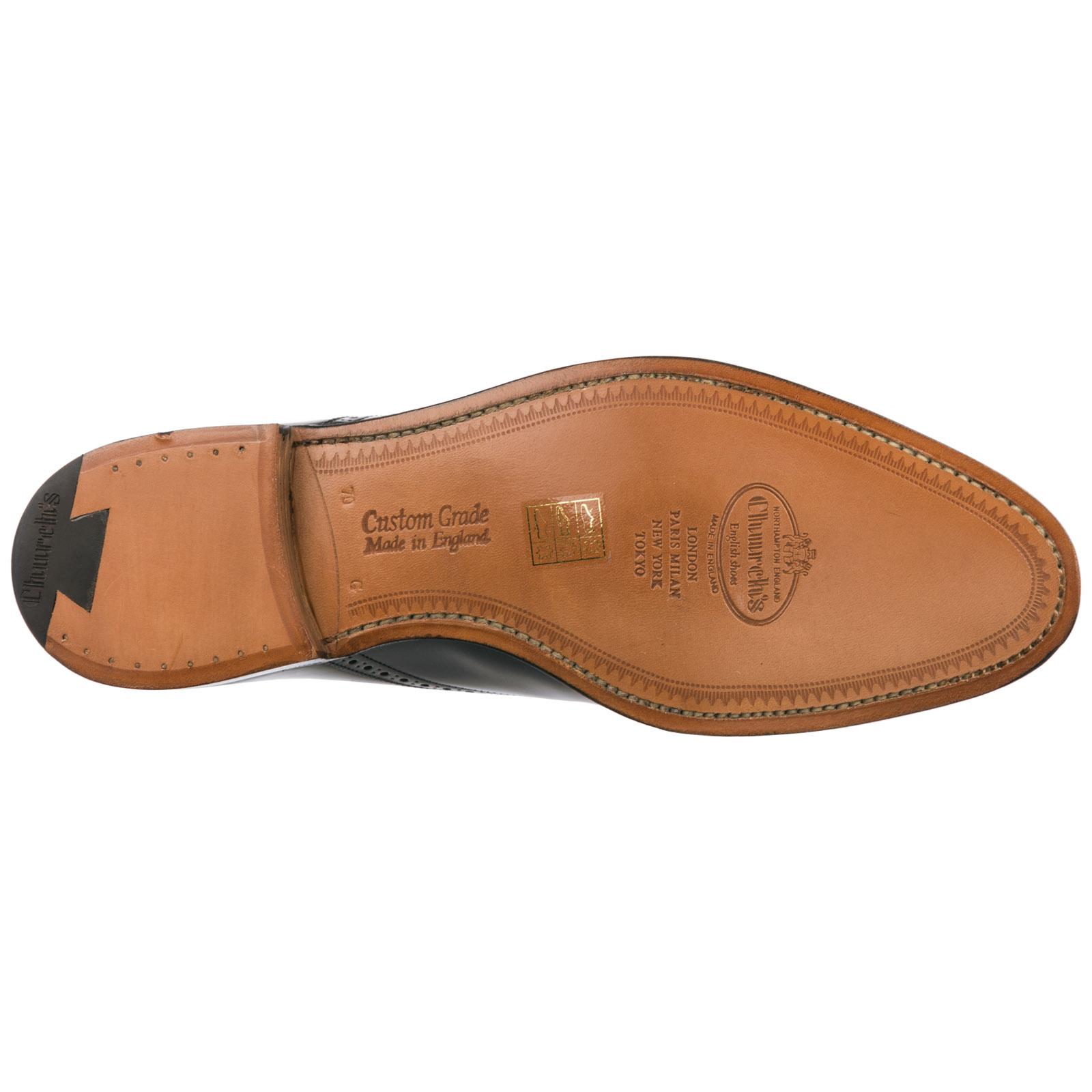 Clásico zapatos de cordones hombres en piel brogue toronto
