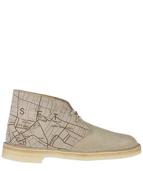 Desert boots Clarks 13292 sand interest