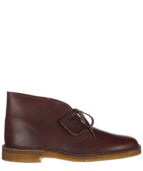 Desert boots Clarks 3187970001 ebony vintage