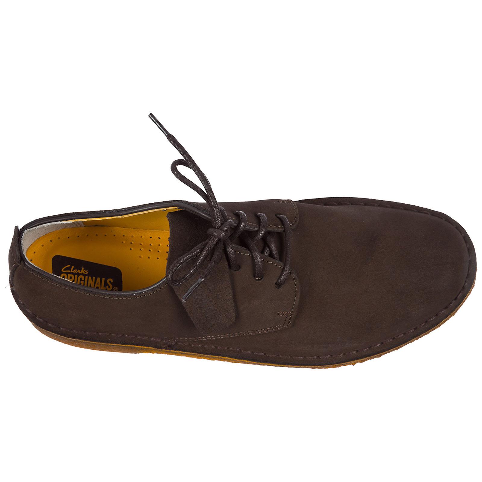 Clásico zapatos de cordones en ante hombres