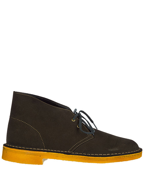Bottines Clarks DESERTBOOTLODEN green