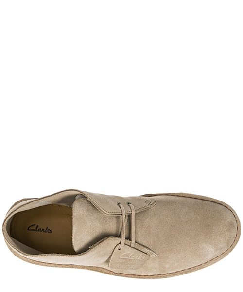 Polacchine stivaletti scarpe uomo camoscio desert secondary image