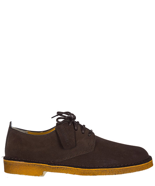Lace up shoes Clarks DESERTLONDONBRW dark brown