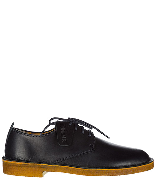 Chaussures à lacets Clarks DESERTLONDONNAV dark navy