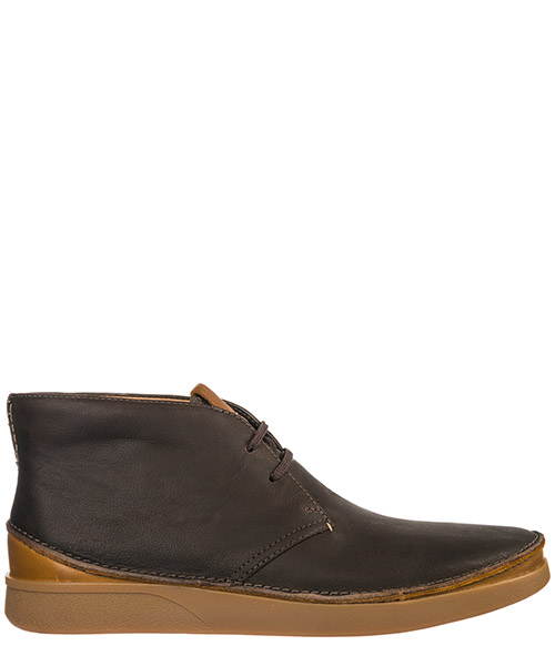 Botines Clarks Oakland OKLAND29RISEBROWN dark brown