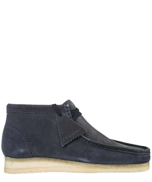 Scarpe polacchine Clarks Wallabee WALLABEE29BCBLUE dark blue