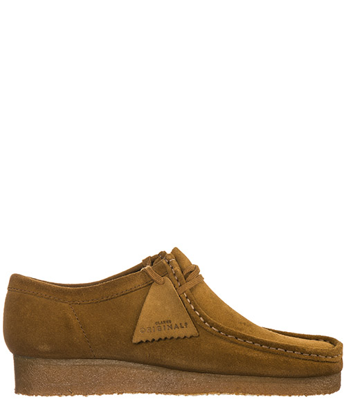 Кроссовки Clarks Wallabee WALLABEE29CAMCOLA cola