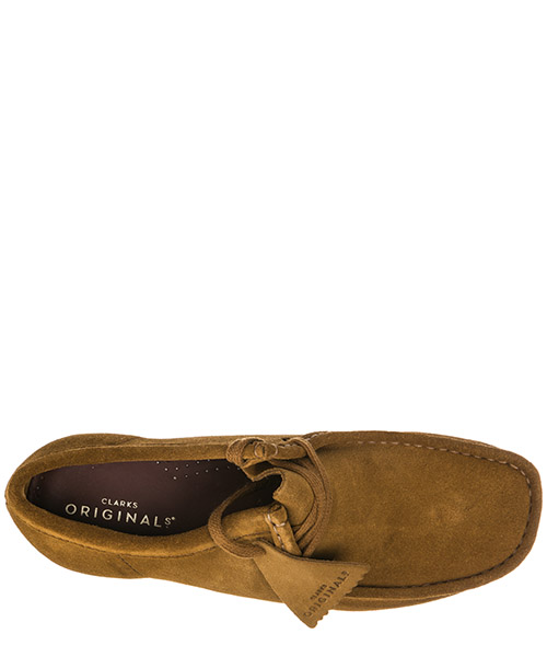 Bottines demi-bottes homme en daim wallabee secondary image