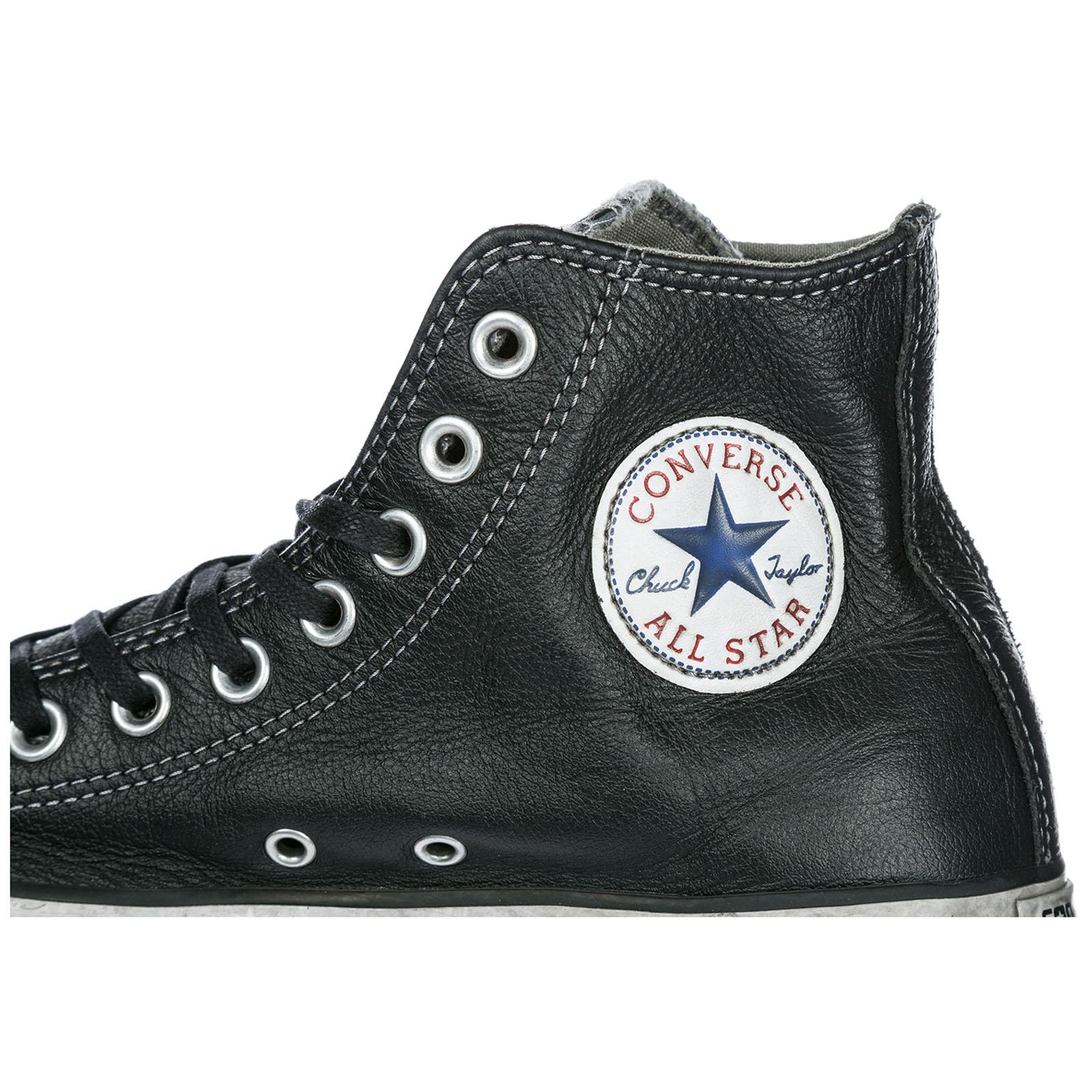 ... Chaussures baskets sneakers hautes homme en cuir limited edition 00ec4b00a1e