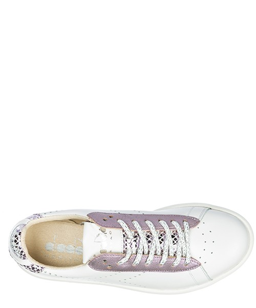 Scarpe sneakers donna in pelle game h secondary image