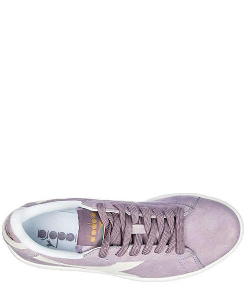Scarpe sneakers donna camoscio game wide secondary image