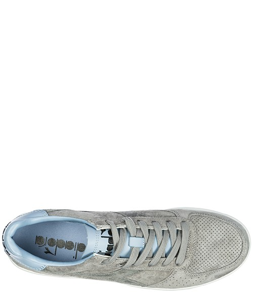 Men's shoes suede trainers sneakers b elite premium secondary image
