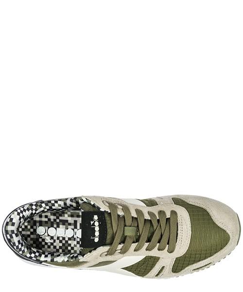 Chaussures baskets sneakers homme en daim titan artic secondary image