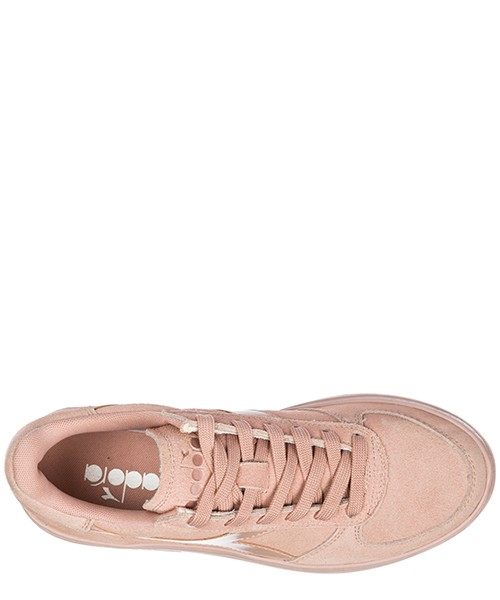 Chaussures baskets sneakers femme en daim b. elite wide secondary image