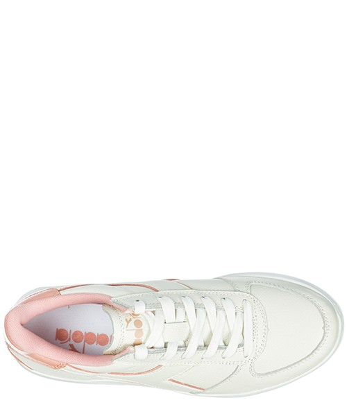 Chaussures baskets sneakers femme en cuir b. elite l wide secondary image