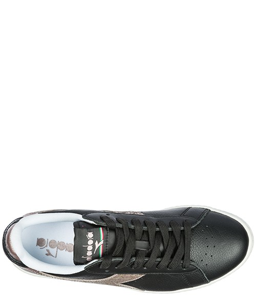 Women's shoes leather trainers sneakers game secondary image
