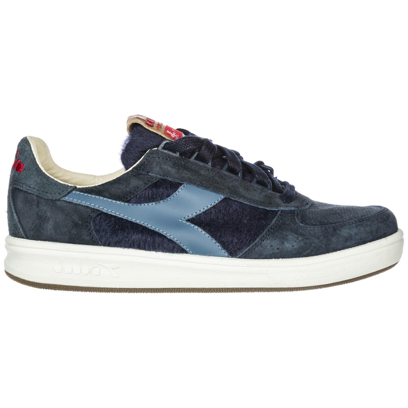 Scarpe sneakers uomo camoscio b elite