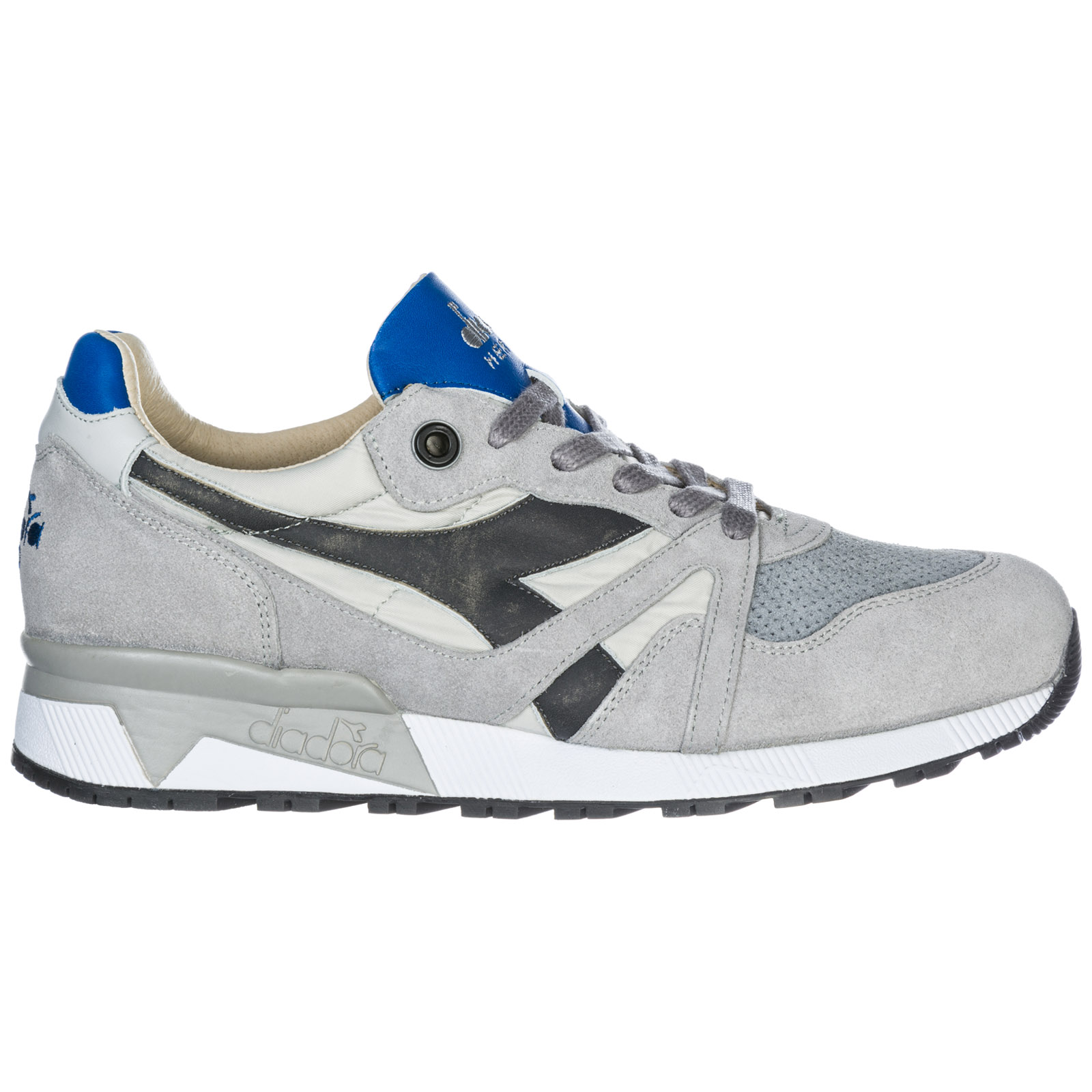 DIADORA Sneakers Sneakers N9000 H S Sw In Leather, Nylon And Suede With Rubber Sole in Grey