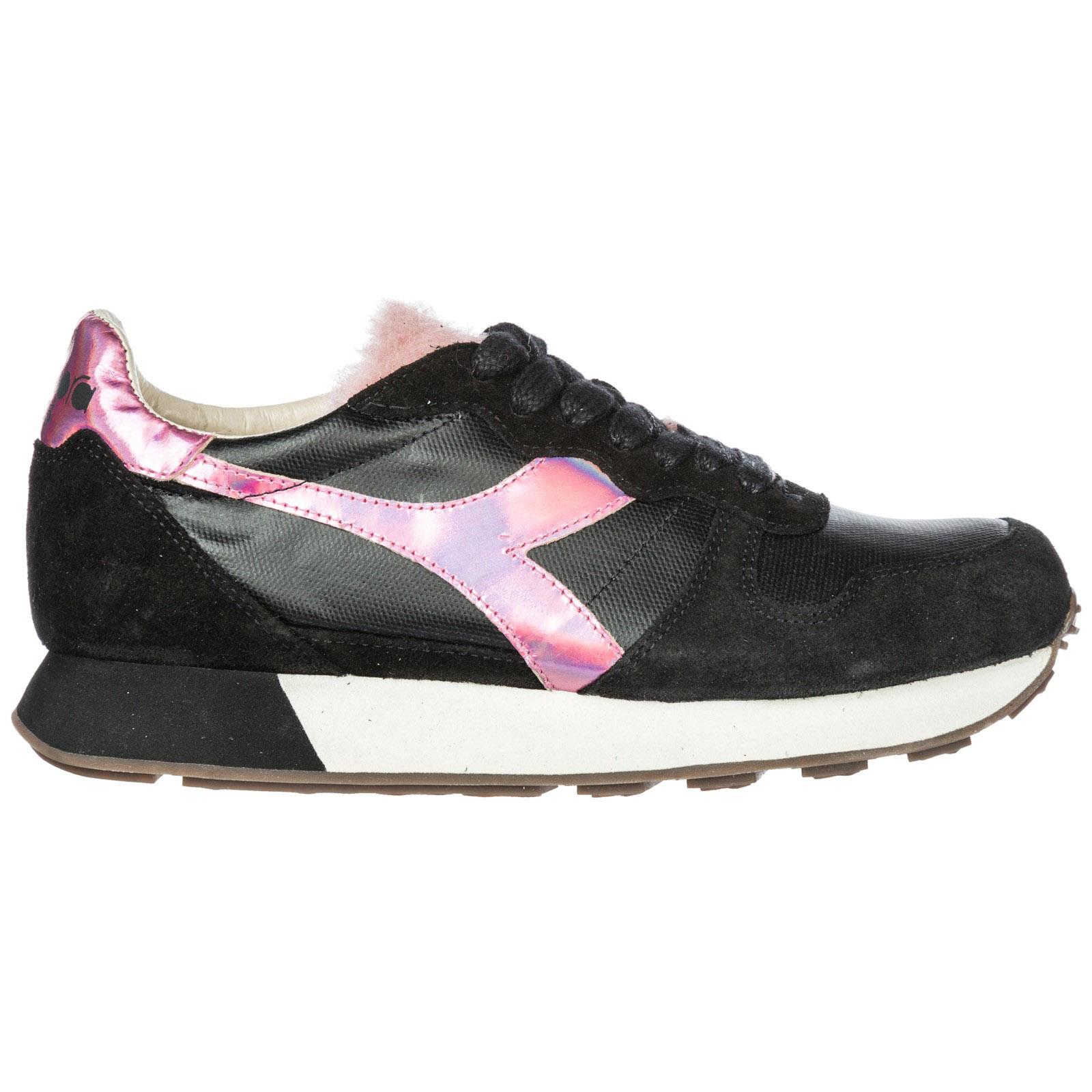 Scarpe sneakers donna camoscio camaro h