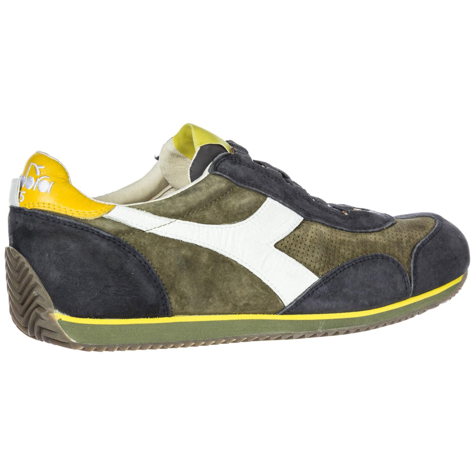 Sneakers Diadora Heritage Equipe s sw 18 201.173900 burnt olive ... 50b5fb32d33