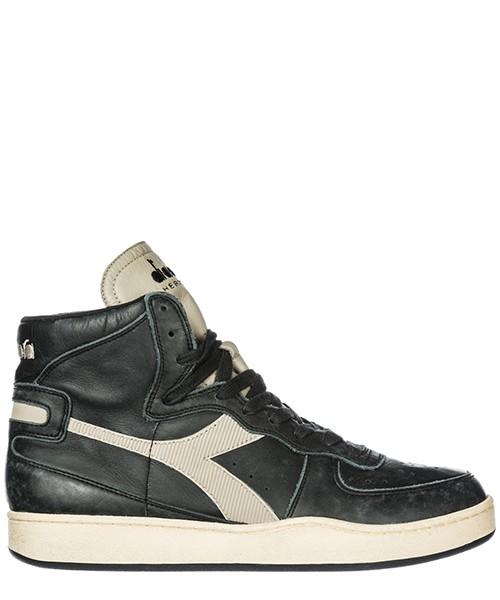Herrenschuhe herren leder schuhe high sneakers mi basket