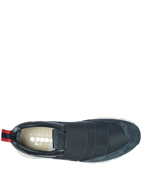 Men's leather slip on sneakers  n9000 h secondary image