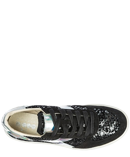 Chaussures baskets sneakers femme en cuir b. elite secondary image