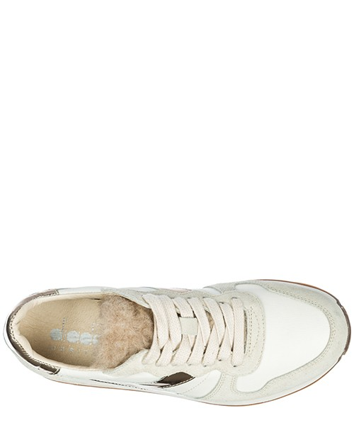 Chaussures baskets sneakers femme en daim camaro h secondary image