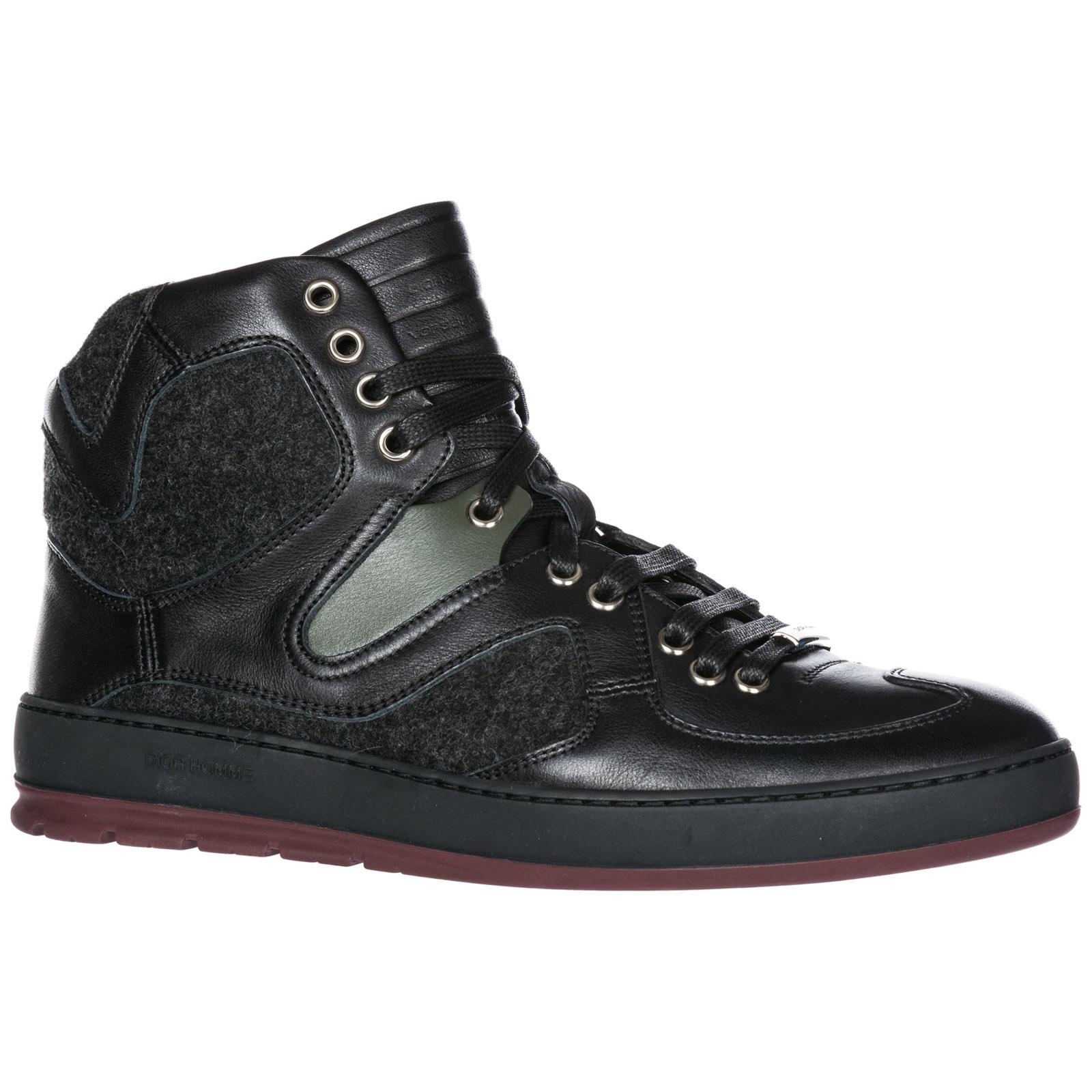 Zapatos zapatillas de deporte largas hombres en piel b19
