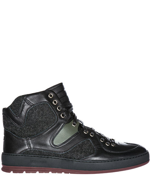 High top sneakers Dior 3SH066VQF nero