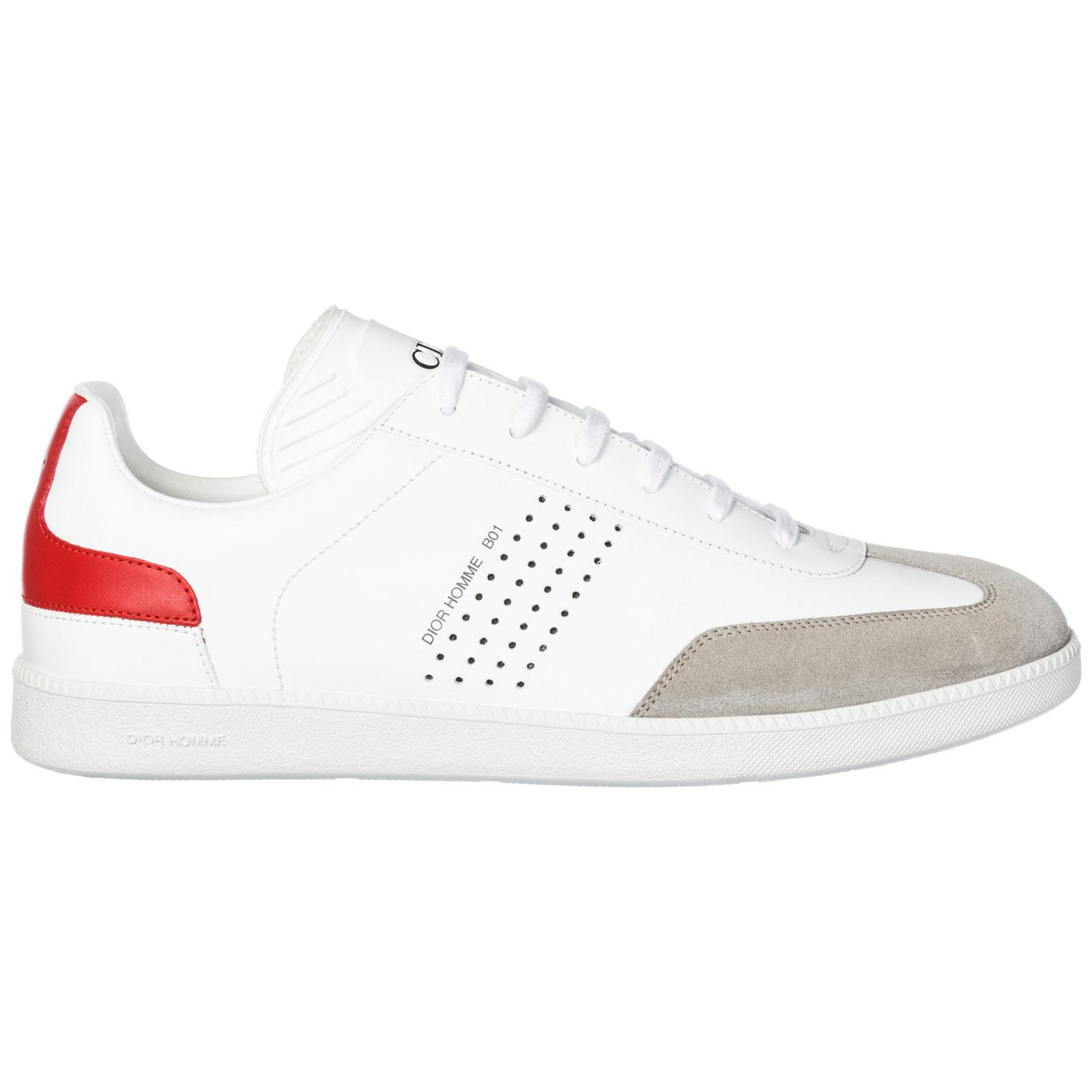 Chaussures baskets sneakers homme en cuir ... 64c6b110d6f