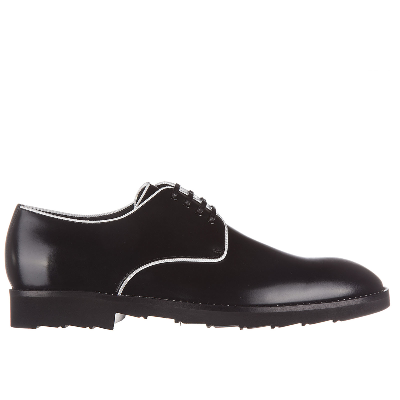 Men's classic leather lace up laced formal shoes derby correggio
