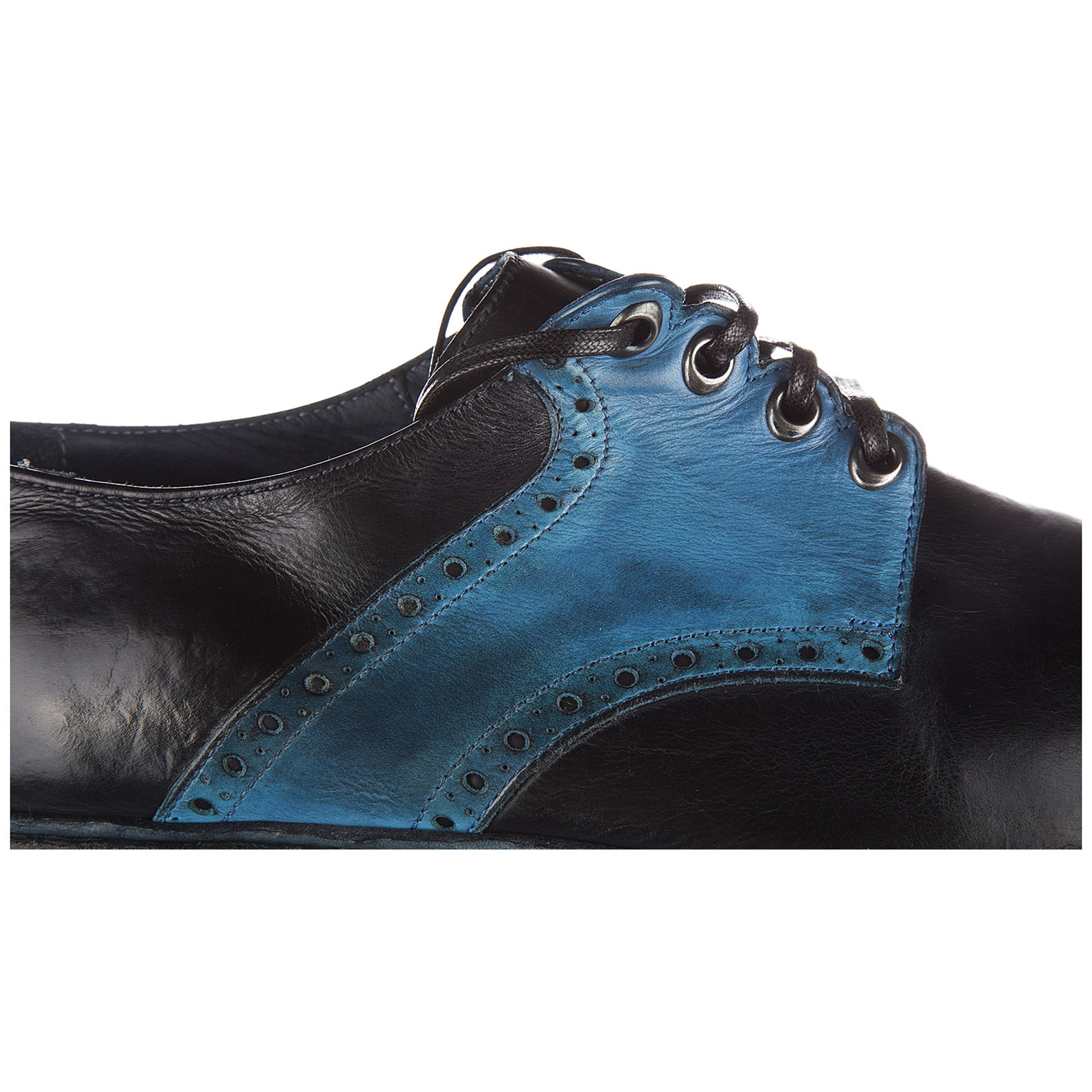 Men's classic leather lace up laced formal shoes derby michelangelo bellini