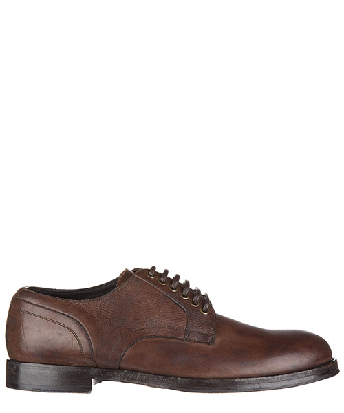 Lace up shoes Dolce&Gabbana Giorgione A10101 A1287 80051 ebano