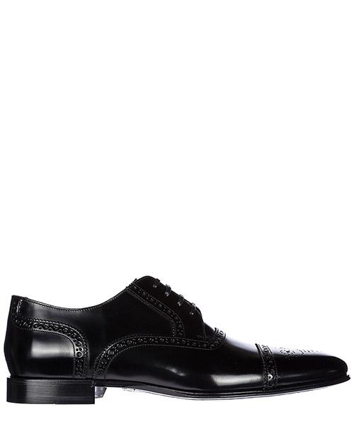 классические туфли на шнурках мужские кожаные correggio derby brogue