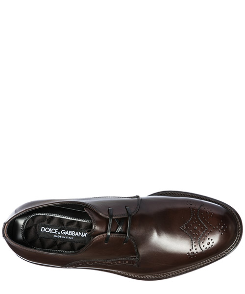 Chaussures à lacets classiques homme en cuir derby secondary image