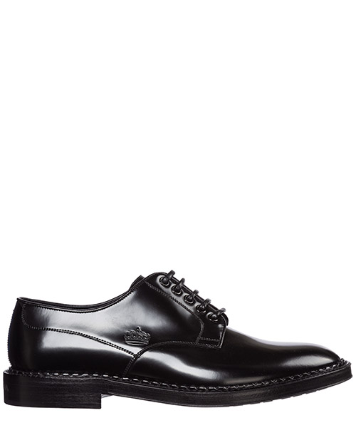 Lace-up shoes Dolce&Gabbana marsala a10471aa38480999 nero