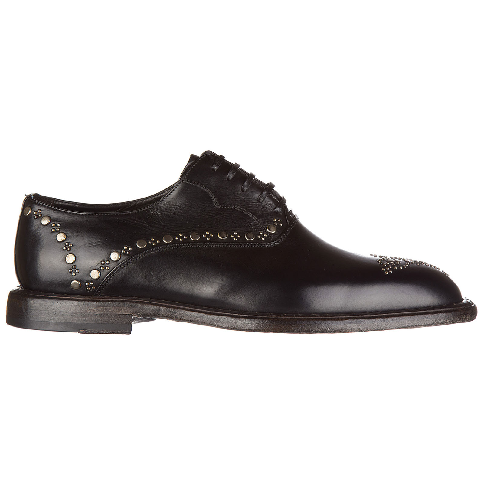 Men's classic leather lace up laced formal shoes francesina michelangelo tuffat