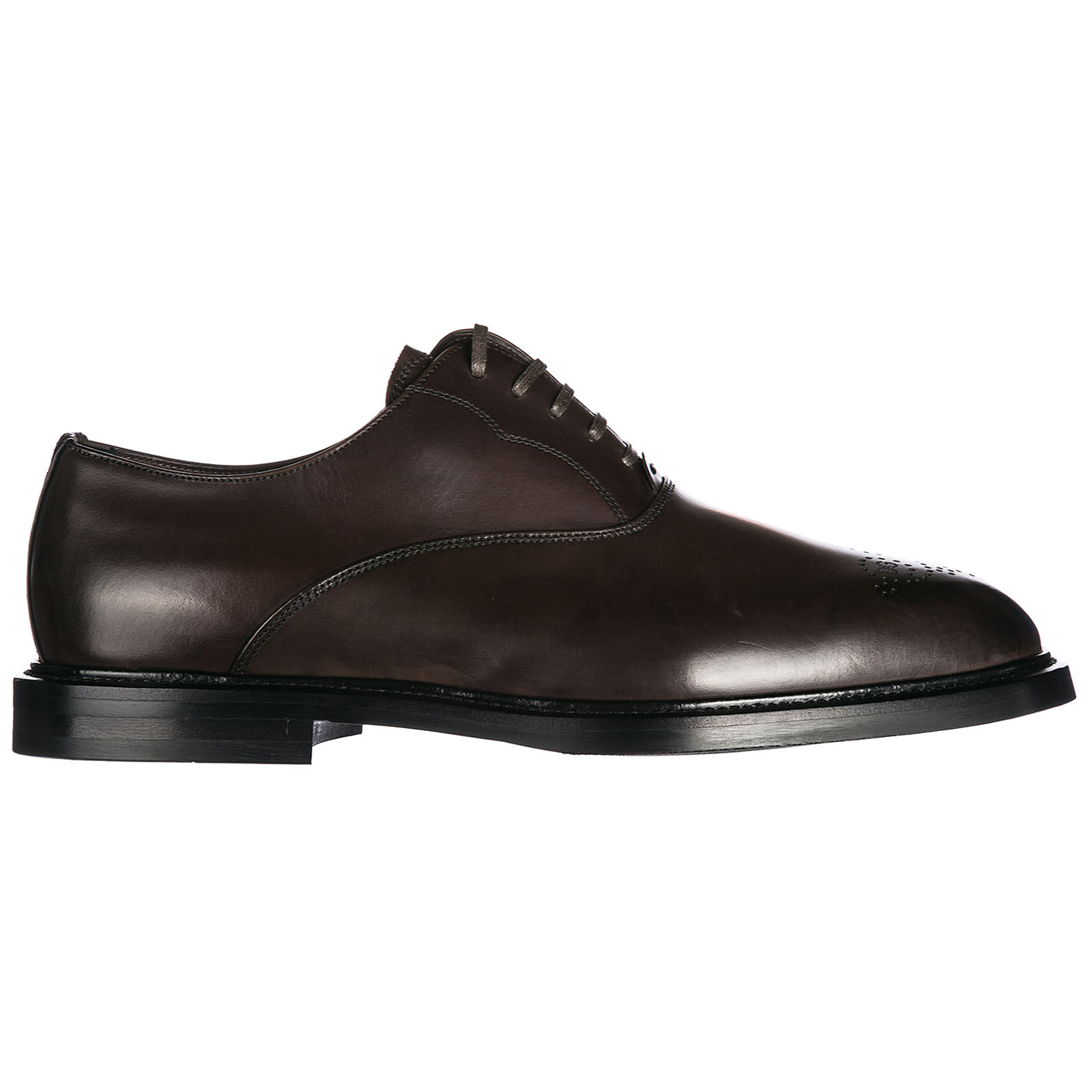 Men's classic leather lace up laced formal shoes francesina brogue