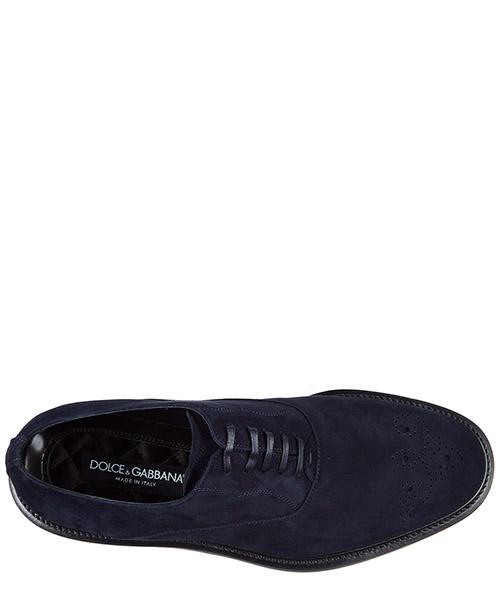 Clásico zapatos de cordones en ante hombres marsala oxford secondary image