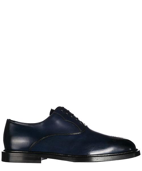классические туфли на шнурках мужские кожаные francesina brogue