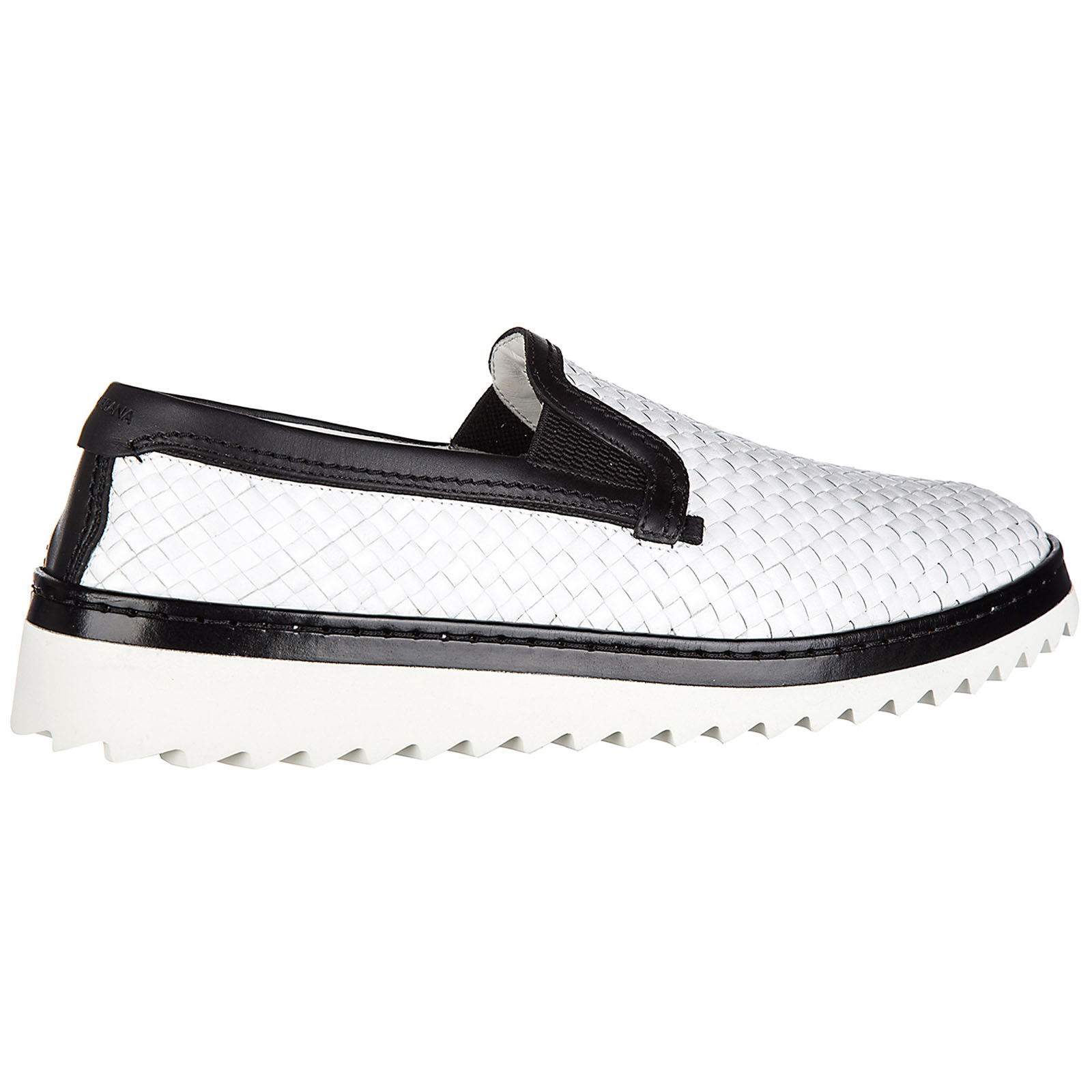 Slip on uomo in pelle sneakers