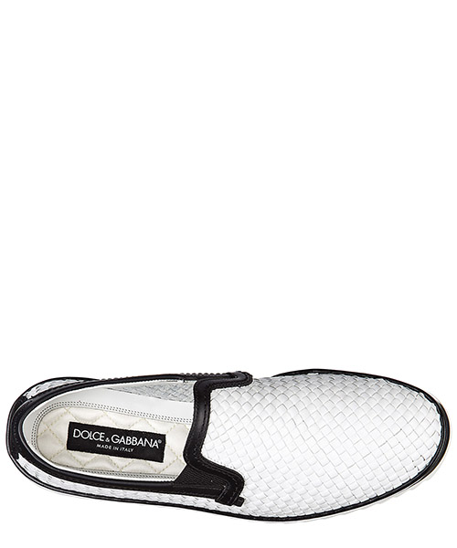 Slip on uomo in pelle sneakers secondary image