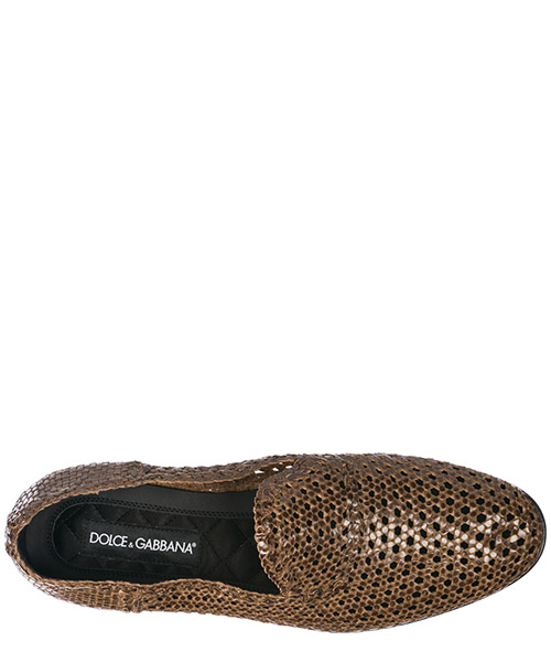 Herren leder mokassins slipper secondary image